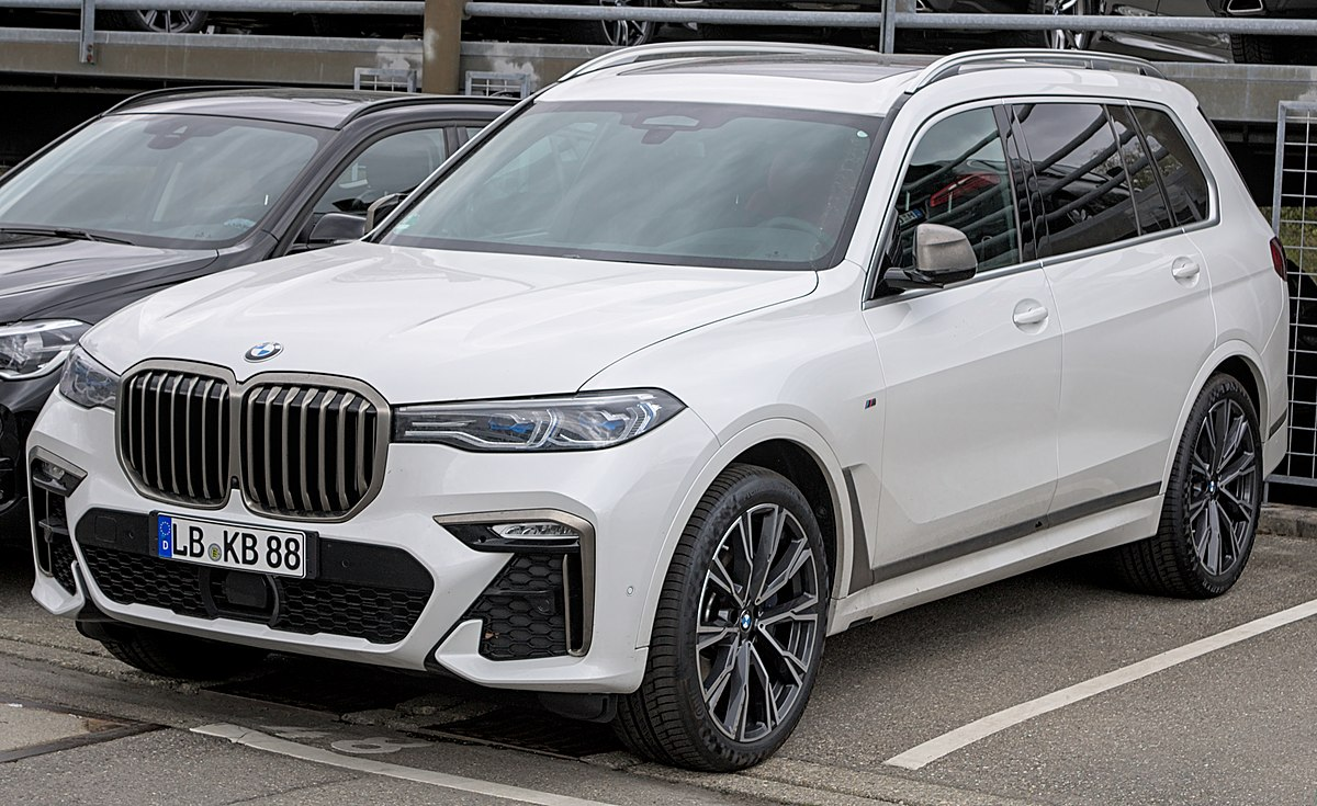 Дата выпуска BMW x7